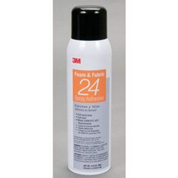3M 24SPRAY 20oz. Series 20 Foam & Fabric Aerosol 24 Spray Adhesive
