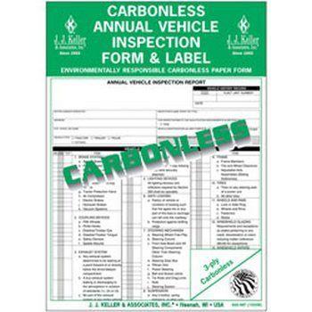 J J  Keller - Duplicate Drivers Daily Log Book, Carbonless