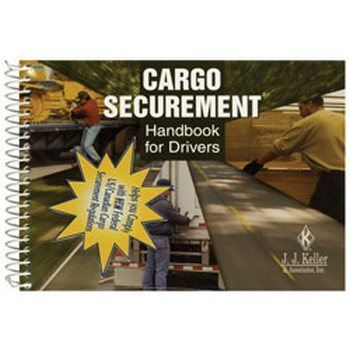 J.J. Keller 445-MP Cargo Securement Handbook for Drivers