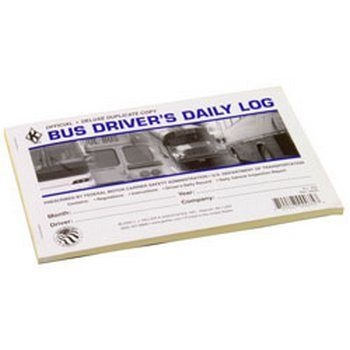J.J. Keller 9L BUS DRIVER'S DAILY LOG BOOK 5.5 X 8.5