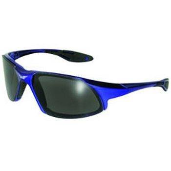 Global Vision C8BLSM Code-8 CF Safety Glasses with Smoke ...
