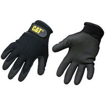 Boss / Cat Gloves CAT017414J Nylon with Nitrile Palm Glove  Jumbo