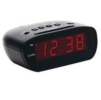 Equity E30902 12-Volt Super-Loud 60-90 Decibel LED Alarm Clock with Snooze Button