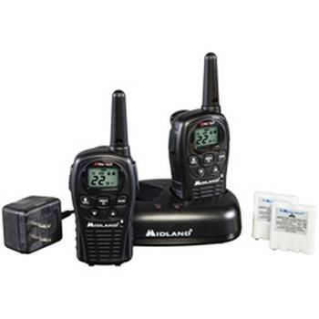 Midland LXT500VP3 Two-Way Radios Value Pack Up to 24 Mile Range