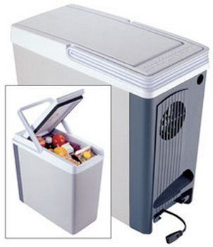 Koolatron P-20WH 18 Quart Compact 12-Volt Thermo-Electric Cooler
