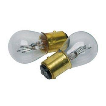 RoadPro RP-1157 Heavy Duty Automotive Replacement Bulbs - #1157 Clear 2-Pack