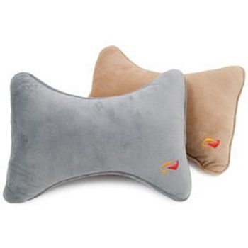 RoadPro RP2806 Headrest Pillow with Microfiber Cover Assorted Colors
