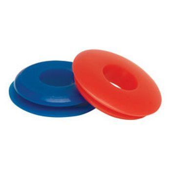 RoadPro RP3611BR Blue Service & Red Emergency Gladhand Seals Twin Pack