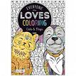 Bendon 90145PDQDAS BENDON ADULT COLORING CATS/DOGS 18PCPDQ